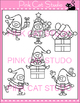 Christmas Clip Art - Christmas Elves Set 1  - Personal or Commercial Use