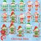 Christmas Elves Cliparts AMB-1132