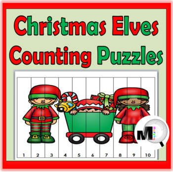 Christmas Counting Puzzles - Numbers 1-120 - Christmas Act