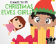 Christmas Elves Girls 2 Clipart | Instant Download Vector Art | Commercial Use