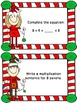 Christmas Elves Multiplication Task Cards