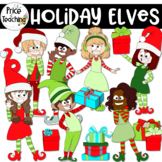 Holiday Elves (The Price of Teaching Clipart Set)