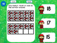 Christmas Elves Teen Numbers Tens Blocks and Ten Frames for Google Classroom™