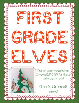 Christmas Elves Writing Prompt and Elf Ears