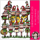 Christmas Elves clip art - COMBO PACK- by Melonheadz