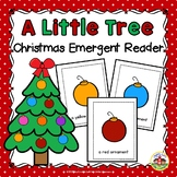 Christmas Emergent Reader and Story Web: A Little Tree