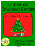 Christmas Emergent Reader