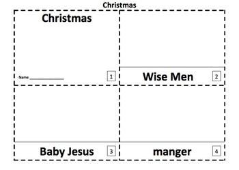 Christmas Emergent Reader 2 Booklets VERSION 2