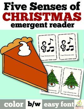 Christmas Emergent Reader: Five Senses of Christmas