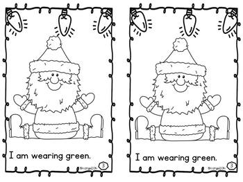Christmas Emergent Reader:  Santa Loves Colors