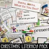 Santa, Santa,What do You See? Christmas Emergent Reader+Matching Activities Pack