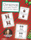 Christmas Emergent Reader - Santa's Little Helpers