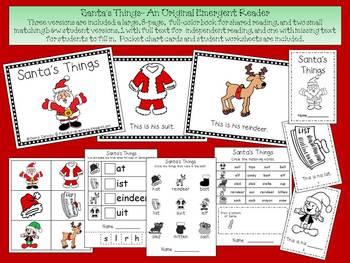 Christmas Emergent Reader - Santa's Things
