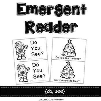 Christmas Emergent Reader {do, see}