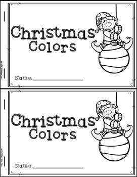 Christmas Emergent Readers (4 Readers)