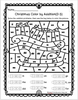 Christmas Emergent Readers and Activity Packet