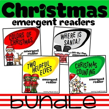 Christmas Emergent Readers BUNDLE