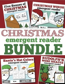 Christmas Emergent Readers Bundle