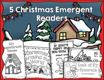 Christmas Emergent Readers {With Matching Big Books}