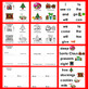 Christmas Mini Books - 3 Reading Levels + Illustrated Word Wall