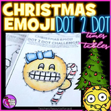 Christmas Math: Dot to Dot Times Tables Emoji Theme - Differentiated Activities!
