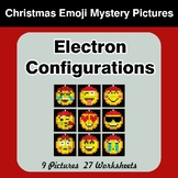 Christmas Emoji: Electron Configurations - Mystery Pictures