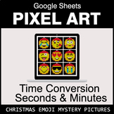 Christmas Emoji: Time Conversion: Seconds & Minutes - Goog