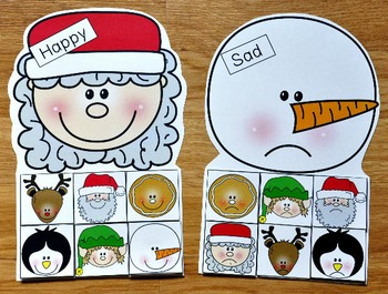 Christmas Emotions Sorting Activities