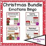 Christmas Emotions and Feelings Bingo Activity Bundle