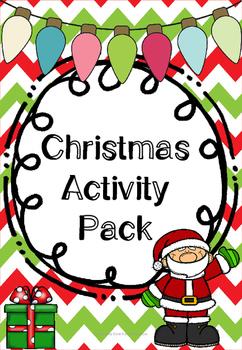 Christmas English Activities