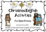 English Christmas Activities (Religious) for Upper Primary (Years 4-6)