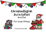 English Christmas Activity Pack for Lower Primary (Australian - Secular)