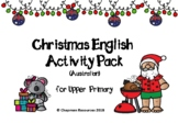 English Christmas Activity Pack for Upper Primary (Australian - Secular)