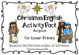 English Christmas Activity Pack for Lower Primary (Religious)