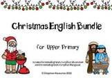 English Christmas BUNDLE for Upper Primary (Years 4-6)