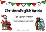 English Christmas Bundle for Lower Primary