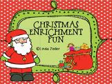 Christmas Enrichment Fun