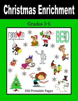 Christmas Enrichment (Grades 3-5)