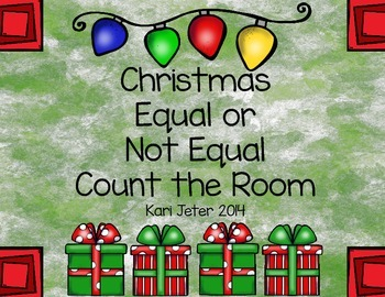 Christmas Equal or Not Equal Count the Room