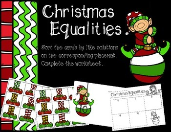 Christmas Equalities (Addition and Subtraction)