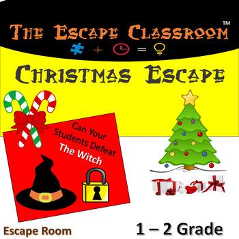 Christmas Escape Room (1 - 2 Grade)