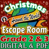 Christmas Escape Room Christmas Around the World Escape Game Activity 2nd & 3rd