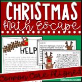 Christmas Escape Math Christmas Scavenger Hunt