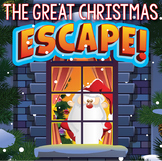 CHRISTMAS Escape Room (Activities, Trivia & Puzzle Games f