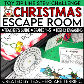 Christmas Escape Room featuring a STEM Challenge