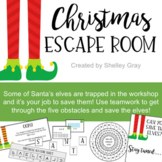 Christmas Escape Room: A Math Escape Room for Christmas |