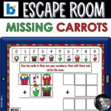 Christmas Escape Room Boom Cards™ - The Case of the Missin