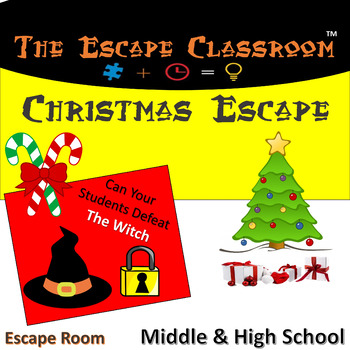 Christmas Escape Room (Middle & High School)