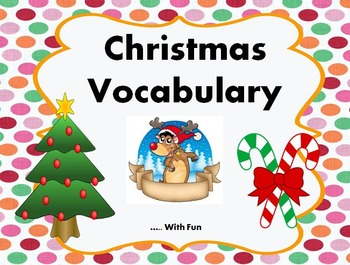 Christmas Essential Vocabulary with Fun
