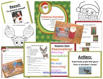 Christmas Essentials: An Integrated K-3 Common Core Unit